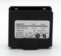 Brumall: AS-I1-I1 Power Distribution Block: 115AMP: 2-14AWG